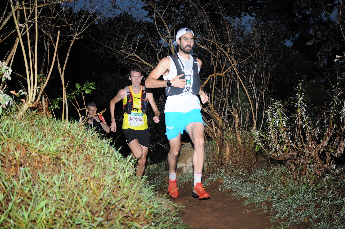 Reilly and Mackenzie Triumph at Wet OMTOM Trail Run