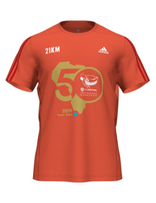 Men's/Unisex 21km T-shirt
