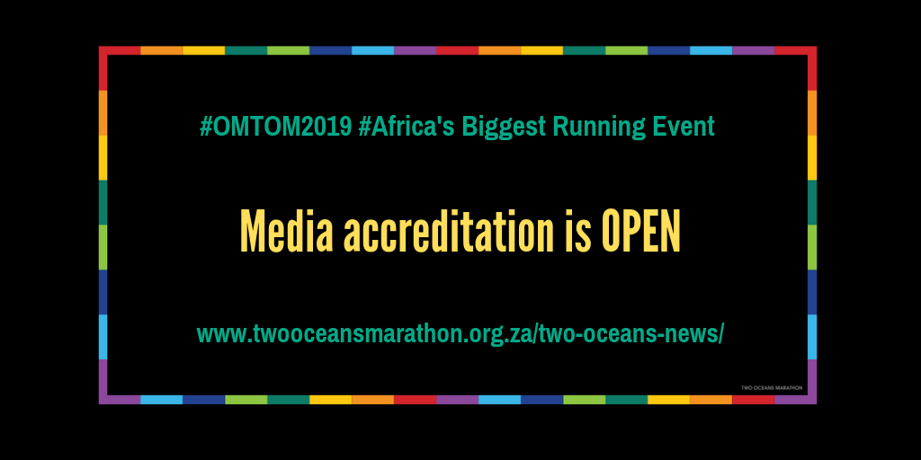 Old Mutual Two Oceans Marathon 2019 media accreditation is open