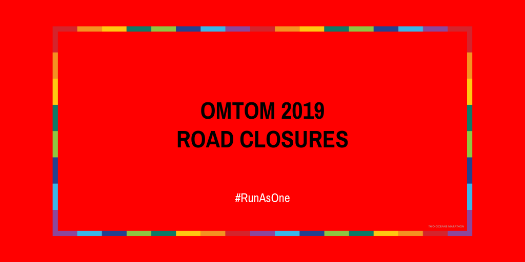 Old Mutual Two Oceans Marathon 2019 Road Closures – Alternate Ou Kaapse Weg Route