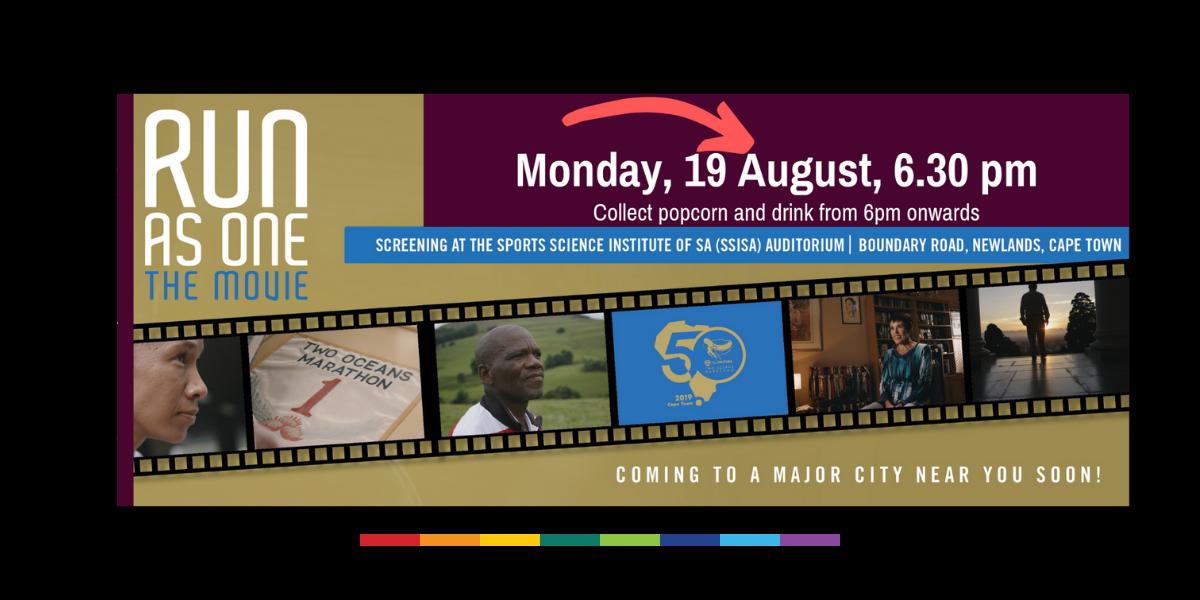 RUN AS ONE – movie screening SSISA Auditorium, 19 August