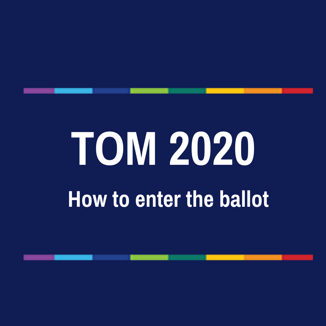 The ballot system – how to enter