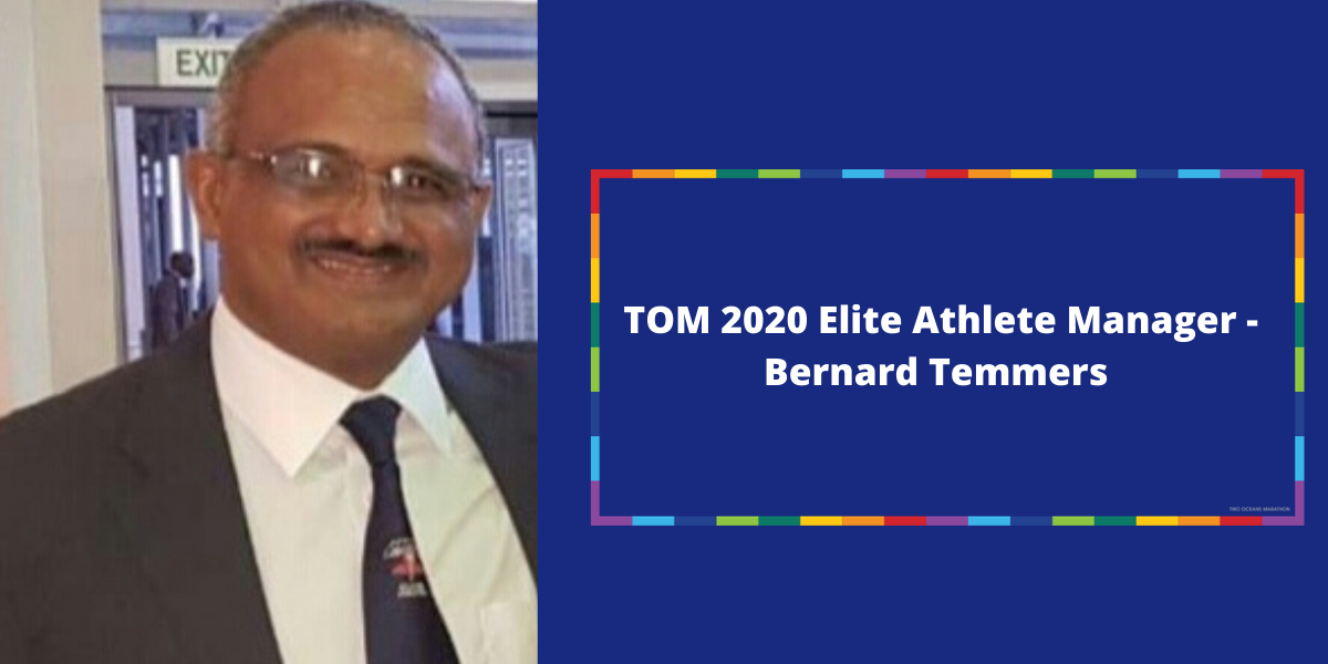 Two Oceans Marathon appoints former TOM Chief Referee Bernard Temmers as TOM 2020 Elite Athlete Manager